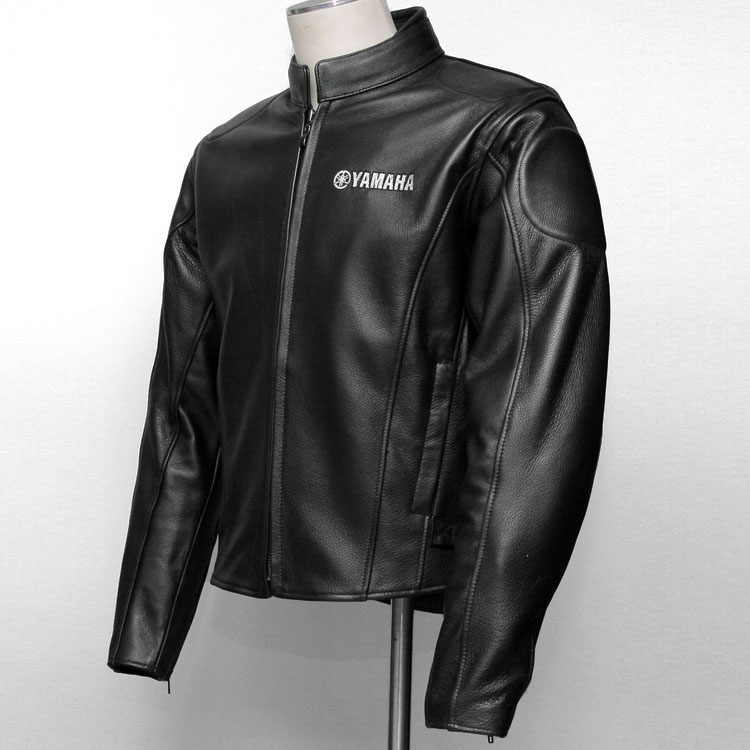 about YAMAHA Rider's R1/R6/warrior/ vmax/TMAX Men's Leather Jacket